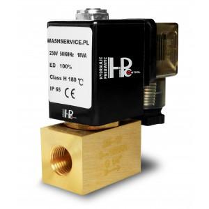 Magneettiventtiili 2M08 1/4 tuumaa 0-16bar 230V 24V 12V