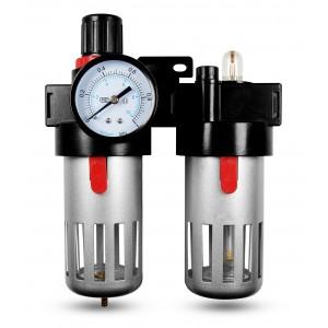 Suodattimen dehydraattorisäätimen voiteluaine FRL 1/2 tuumaa asetettu ilmavirtaan BFC4000