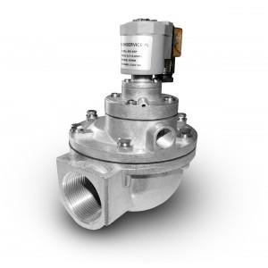 Pulssimagneettiventtiili suodattimien puhdistamiseen 1 1/2 tuuman MV45T