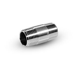 Putkenippa ruostumaton teräs 1/4 tuumaa 38 mm