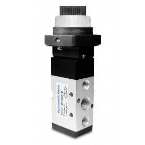 Manuaalinen venttiili 5/2 MV522TB 1/4 tuuman toimilaitteet