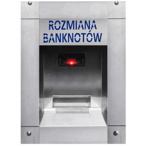Rahanvaihtaja seteleistä kolikoihin