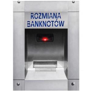 Rahanvaihto seteleille autopesulaan (vedenpitävä)