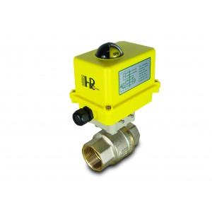 Palloventtiili 1 1/2 tuuman DN40 sähkötoimilaitteella A250