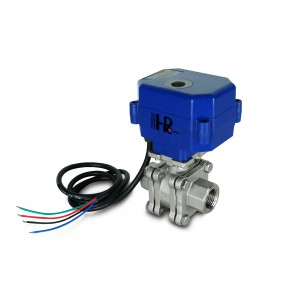 1/2 tuuman korkeapaineinen venttiili PN125 toimilaitteella A80 tai A82