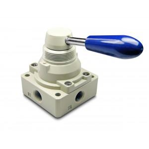 Manuaalinen venttiili 4/3 4HV230-08 1/4 tuuman toimilaitteet