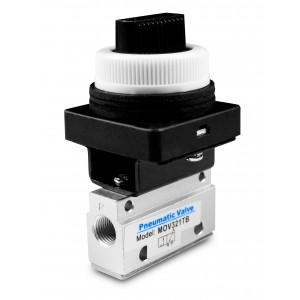 Manuaalinen venttiili 3/2 MOV321TB 1/8 tuuman toimilaitteet