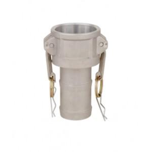 Camlock-liitin - tyyppi C 3 tuumaa DN80 alumiini