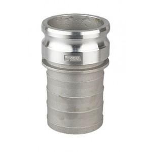 Camlock-liitin - tyyppi E 2 tuumaa DN50 Alumiini
