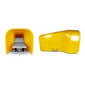 Jalkaventtiili, ilmapoljin 5/2 1/4 sylinterille 4F210LG - kaksiosainen kannessa