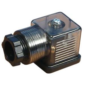Kytke magneettiventtiiliin 18mm DIN 43650 LEDillä