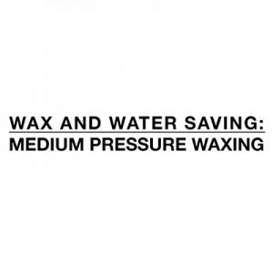 Säästät vettä ja vahaa - vahanpoistoaineen keskipaine