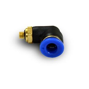 Kulmainen tulppa-nippaletku 6mm kierre M5 PL06-M05