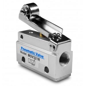 Manuaalinen venttiili 3/2 MOV321R 1/8 tuuman toimilaitteet