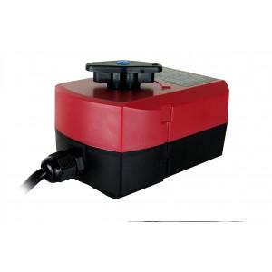 Toimilaitteen venttiilin käyttö A82 230 V, 24 V AC 3-johdin