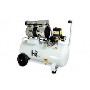 Hiljainen öljytön hammaskompressori 750W 24l