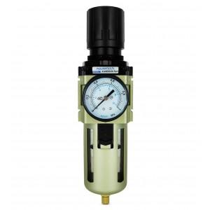 Suodata vedenpoistoventtiilin säätimen manometri, 1/2 tuumaa AW4000-04