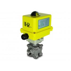 Korkeapaineinen palloventtiili 1 tuuman DN25 PN125 toimilaite A250