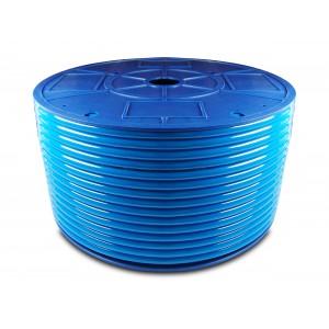 Polyuretaani-paineilmaletku PU 6/4 mm 200m sininen