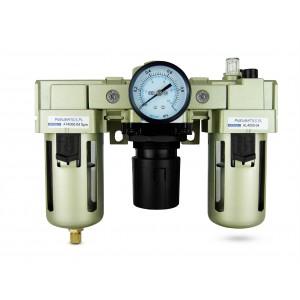 Suodattimen kuivausrummun säätimen voiteluaine FRL 1/2 tuumaa asetettu ilmaan AC4000-04
