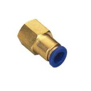 Tulppa nippaletku 6 mm: n sisäkierteellä, 1/4 tuuman PCF06-G02