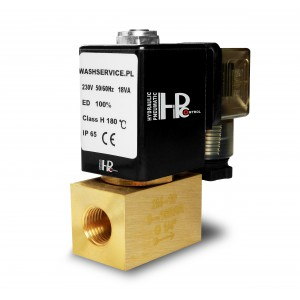 Magneettiventtiili 2M15 1/2 tuumaa 0-16 bar 230 V 24 V 12 V