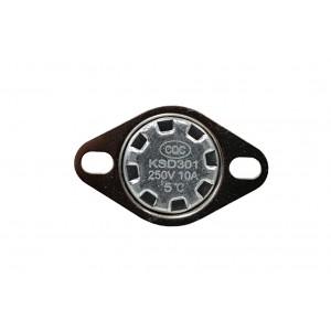 Bimetalitermostaatti, NC-lämpötila-anturi 5 ℃ 10A 230 VAC tyyppi KSD301