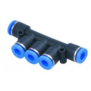 Virranjakaja, pistoke nippa PK06 letku 6mm