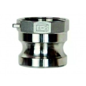 Camlock-liitin - tyyppi A 1 tuuman DN25 SS316