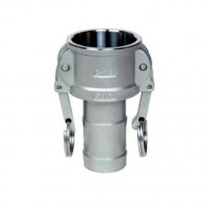 Camlock-liitin - tyyppi C 1 tuuman DN25 SS316